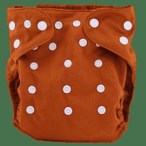 BOBOLIDER Plienkové nohavičky ECO Bobolider B30 - hnedé