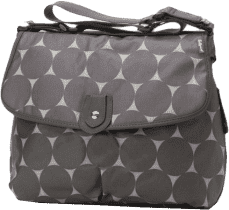 BABYMEL Torba do przewijania Satchel Jumbo Dot Grey