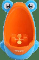 BABY YUGA Dziecięcy pisuar żaba – niebiesko pomarańczowy