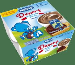 NESTLÉ Baby Dessert kakaový (4x100 g)