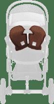CAM Zimní rukavice ke kočárku, hnědé