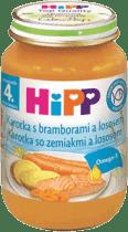 HIPP Mrkev s bramborami a lososem (190 g)