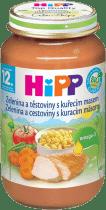 HIPP zelenina s těstovinami a kuřetem (220 g) - maso-zeleninový příkrm