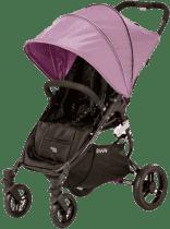 VALCO Wózek SNAP 4 BLACK, kolor czarny/fioletowy, pozycjonowany