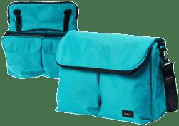 BUMBLERIDE Diaper taška - Aquamarine