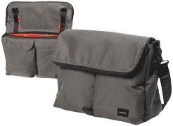 BUMBLERIDE Diaper taška – Fog grey