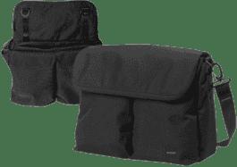 BUMBLERIDE Diaper torba – Jet black