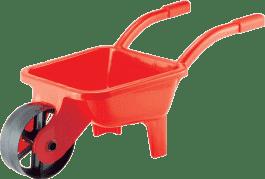 SIMBA Taczka ogrodowa plastikowa, zielona/czerwona - narzędzia ogrodowe
