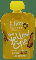 5x ELLA´S Kitchen Owocowe puree - Banan (The Red One) 90g