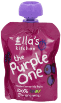 5x ELLA'S Kitchen Ovocné pyré - Čučoriedka (The Purple One) 90g