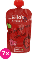 7x ELLA'S Kitchen, Jahoda, jablko 120g