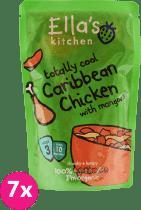 7x ELLA'S Kitchen Karibské kurča smangom 190g