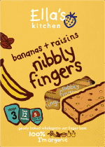 ELLA'S Kitchen Batoniki owsiane banan i rodzynki