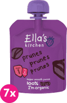 7x ELLA'S Kitchen, Ovocné pyré - 100% švestky 70g