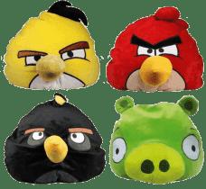 EPLINE Relaxační polštář Angry Birds (4 assort)
