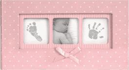 FOTOALBUM BABY Polka Dot 100 fotografií (10x15cm) – ružový