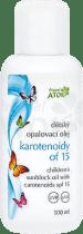 ATOK Original dětský opalovací olej s karotenoidy OF15 100 ml