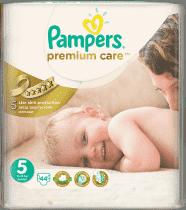 PAMPERS Premium Care 5 JUNIOR 44 szt. (11-18 kg) - pieluchy jednorazowe