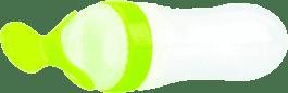 NUBY Fľaštička s lyžičkou Garden Fresh, zelená