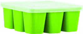 NUBY Zásobník na príkrmy do mrazničky Garden Fresh, zelená