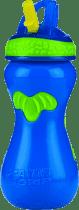 NUBY Bidon niekapek ze słomką Flip-it™450ml – niebieski