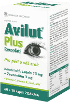 HBF Avilut Plus Recordati – tablet 60+10 ZDARMA
