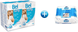 BEL BABY prsné vložky (2x30 ks) + Bel tyčinky 160 ks zadarmo