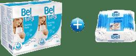 BEL BABY Wkładki laktacyjne duopack 2x30 Szt.