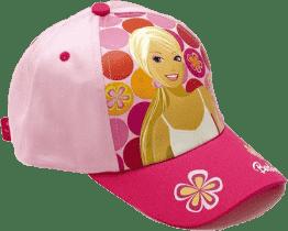BARBIE Letná šiltovka, ružová s bodkami (Premium klub)