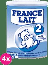 4x FRANCE LAIT 2 (400g) - dojčenské mlieko