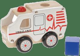 2-PLAY Auto drevené - záchranárske