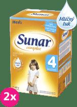 2x SUNAR Complex 4 (600g) – kojenecké mléko