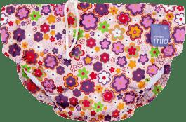BAMBINO MIO Nohavičkové plienky kúpacie Ditz Floral vel.S (5-7kg)