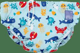BAMBINO MIO Nohavičkové plienky kúpacie Deep Sea Blue vel.XL (12-15kg)