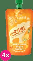 NURTURE 4x Ovocná šťáva pomeranč/ananas 200ml