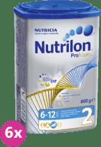 6x NUTRILON 2 ProFutura (800g) - kojenecké mléko