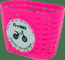 FIRST BIKE Košík růžový