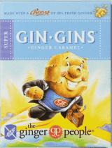 GIN GINS Super Zázvorové bonbony zvlášť silné 31g