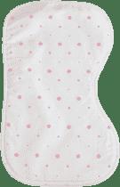 GLOOP Kocyk na ramię do odbijania po karmieniu Pink Dots