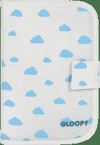 GLOOP Pouzdro na doklady pro miminko Blue Clouds