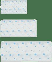 GLOOP Mušelínová plena 3 velikosti Blue Dots