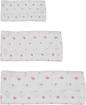 GLOOP mušelínové plienka 3 veľkosti Pink Dots