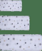 GLOOP Mušelínová plena 3 velikosti Stars