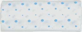 GLOOP Pieluszka muślinowa 100x100 Blue Dots (2 szt.)
