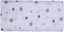 GLOOP Mušelínová plena 70x70 Stars (2ks)