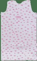 GLOOP Spací vak z organickej bavlny 0 - 6 mesiacov Pink Clouds