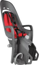 HAMAX Caress Zenith Cyklosedačka s neuzamykateľným zámkom - sivá / červená