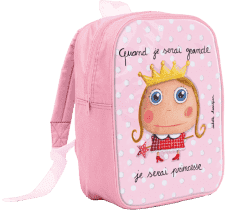 LABEL TOUR Duży plecak Księżniczka