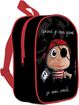 LABEL TOUR Malý batoh Pirát
