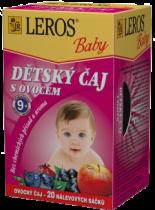 LEROS BABY dětský čaj s ovocem 20x2g